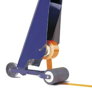 Rear View of Tape Applicator