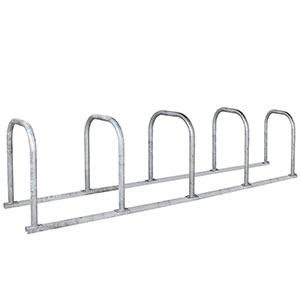 SPECIAL OFFER: supplied with free 5 rack Sheffield loop cycle rack