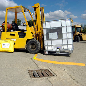 Spill Berm Flexible Barrier Application