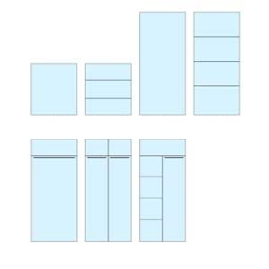 Internal Configurations of Standard & Security Cupboards