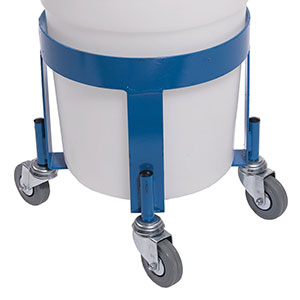 Steel Mobile Dolly for Food Grade Round Bins