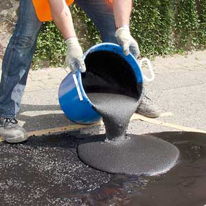 Concrete Repair System In Use
