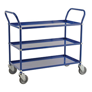 Three Tier Blue Trolley E385325