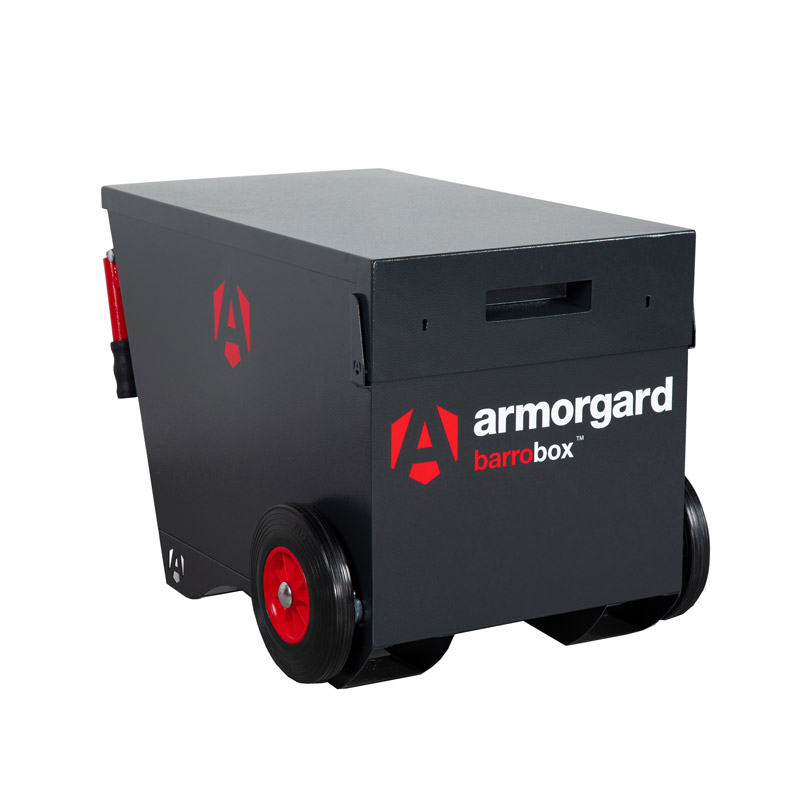 armorgard barrobox site storage box closed