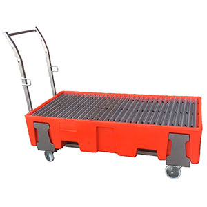 Galvanised Trolley for Drum Bund
