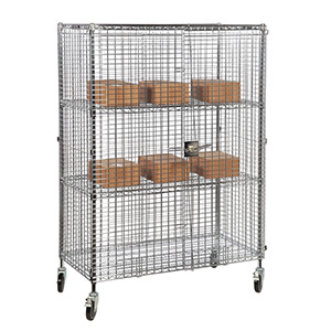 Mobile Wire Security Cage