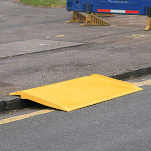Kerb Ramp Over Pavement