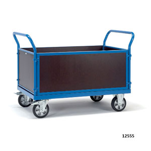 H/D Platform Box Carts with Closed Sides and Ends 1200kg capacity