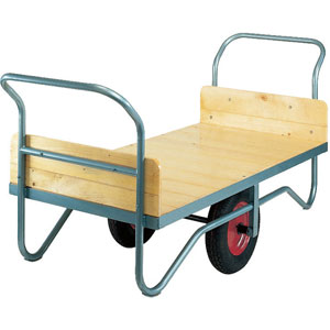 H/D Balanced Trolley with Solid Ends 250kg capacity