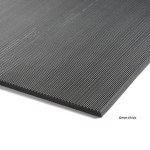 6mm Thick Fine Fluted
