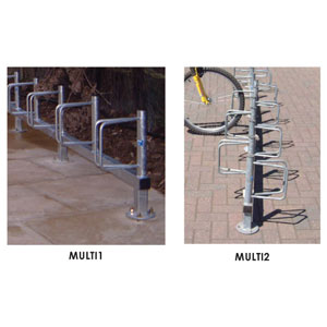 Bike<br /> Storage Racks - Rail Mounted