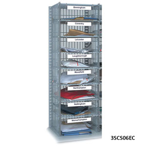 Extra Sort Column for 24 Compartment Mail Sort Unit