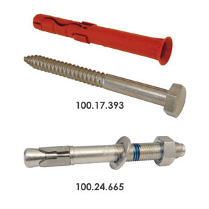 Impact Protection Bollards Fixings