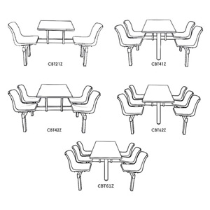 Canteen Table Range