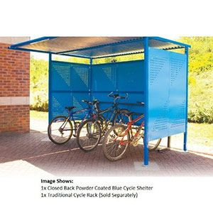 Traditional Cycle Shelter - 3060mm Wide,<br /> 1900mm Deep