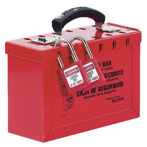 Group<br /> Padlock Lockout Box