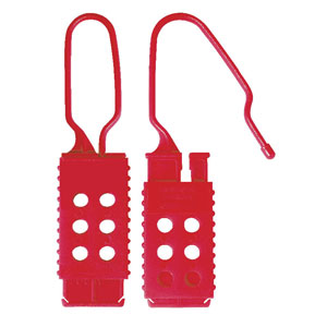 Nylon<br /> Non-Conductive Lockout Hasp