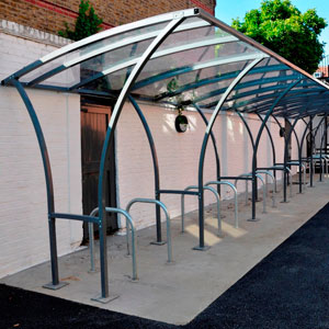 Centred<br /> Tintagel cycle shelter
