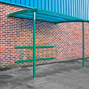 Starter<br /> Wall Mounted Cycle Shelter