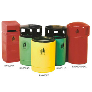 Mainline<br /> Outdoor Waste Bins
