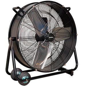 Sealey 24″ Industrial High Velocity Drum Fan