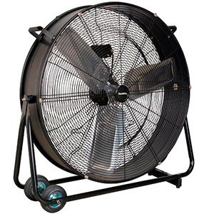 Sealey 30″ Industrial High Velocity Drum Fan