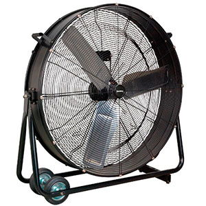 Sealey<br /> 36″ Industrial High Velocity Drum Fan