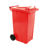 240L Wheelie Bins in 5 Colours