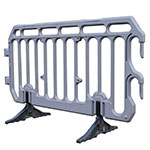 40 x Plastic Crowd Control Barriers