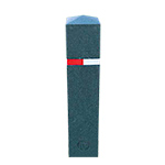 BERKELEY Recycled Rubber Bollards