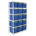 Boltless Shelving with Storage Boxes Kits