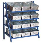 Cantilever Racks for Tote Pans