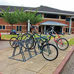 Claw Bike Rack - Single & Double sided for 4 to 12 Cycles