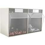 Clearbox Storage Drawer System with pull down fronts