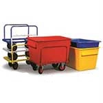 Colour Codeable Container Trucks 370 litre capacity