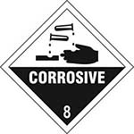 Corrosive 8 Diamond Label