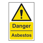 Danger Asbestos Signs