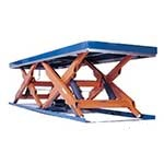 Double Horizontal Scissor Lifts 2,000kg to 8,000kg capacity