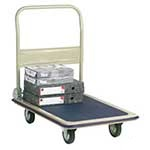 Economy Folding Trolleys, Steel with PVC base