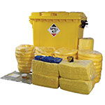 Emergency Chemical Spill Kit - Large Chemical Plants, Laboratories, Workshops
