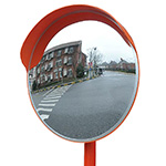 External Convex Mirror with Hood