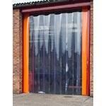 External Doorway PVC Strip Curtains
