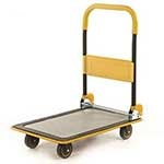 Folding Trolley, Foam Handle, Non slip PVC base