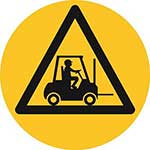 Forklift Graphic Floor Marker