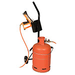 Gas Cylinder Trolley with Single Handle and Gun Storage Holster
