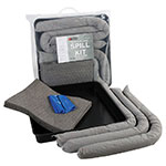 General Purpose Spill Kits with Drip Tray