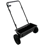 Hand Push Salt  Drop Spreader 27kg Capacity
