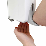 Hands Free Elbow Operated Soap Dispenser