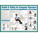 Health & Safety For Computer Operators Poster