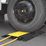 Heavy Duty Cable Protector Ramp 10,000kg Capacity with hinged lid